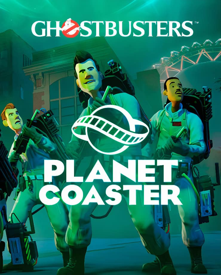 Planet Coaster – Ghostbusters