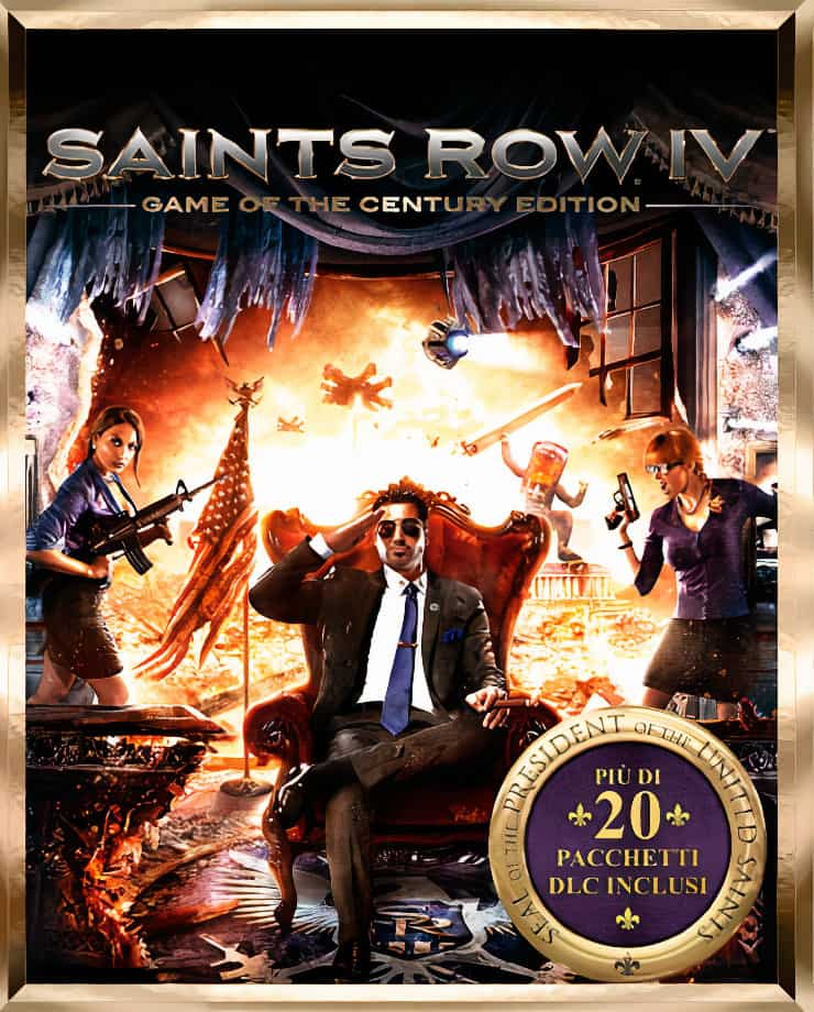 Saints Row IV – Game of the Century Edition