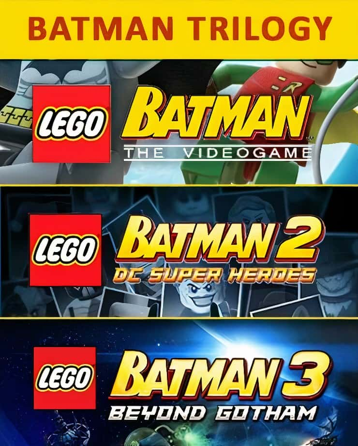 LEGO Batman Trilogy
