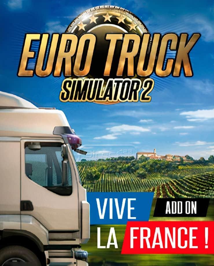 Euro Truck Simulator 2 – Vive la France!