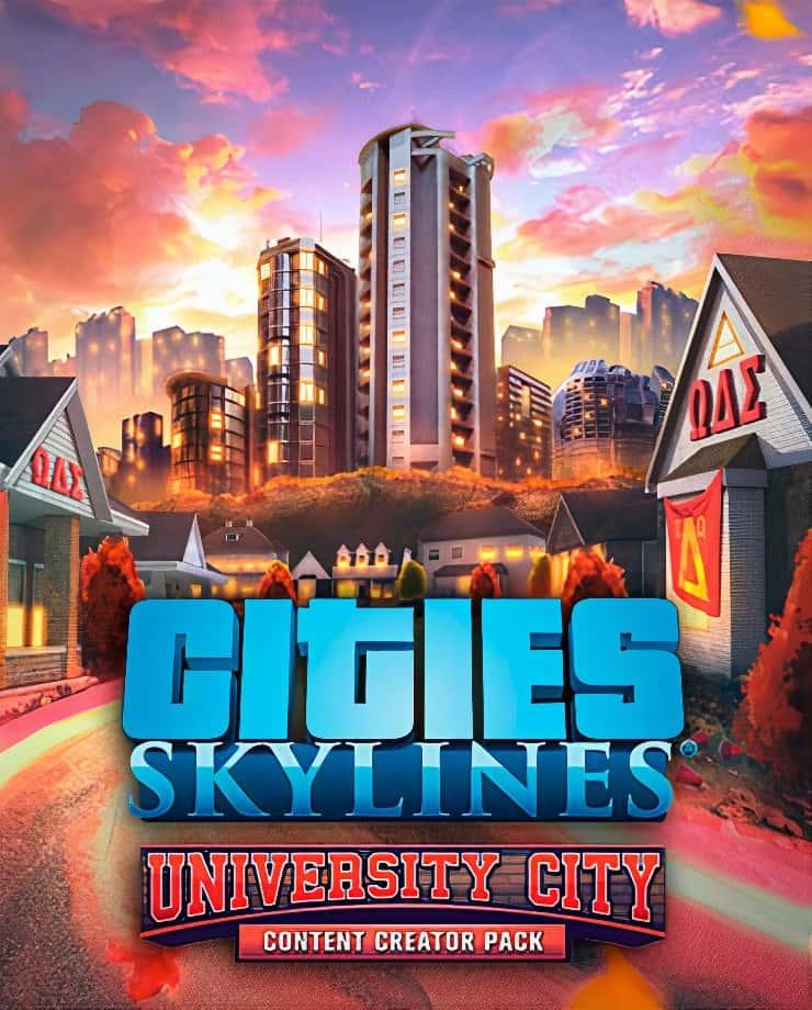 Cities: Skylines – Content Creator Pack: University City