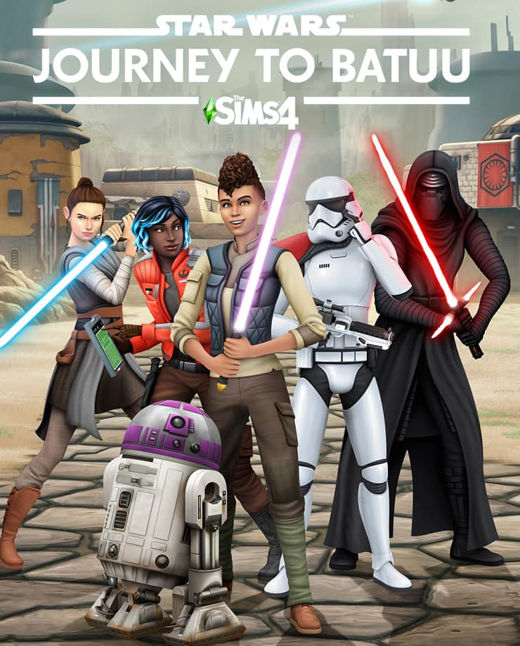 The Sims 4 – Star Wars: Journey to Batuu