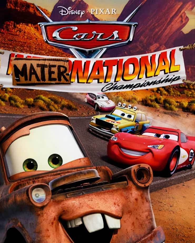 Pixar Cars: Mater-National Championship