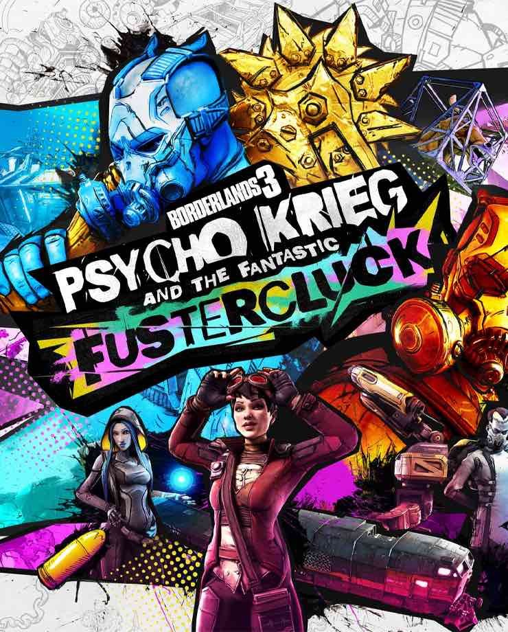 Borderlands 3 – Psycho Krieg and the Fantastic Fustercluck (Steam)
