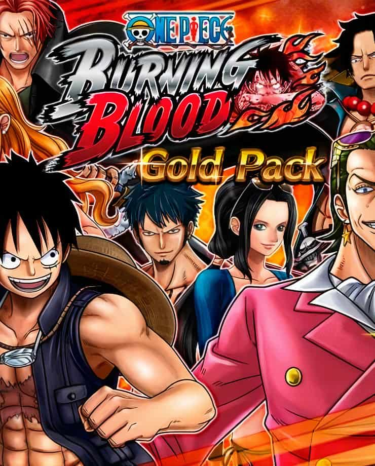One Piece: Burning Blood – Gold Pack