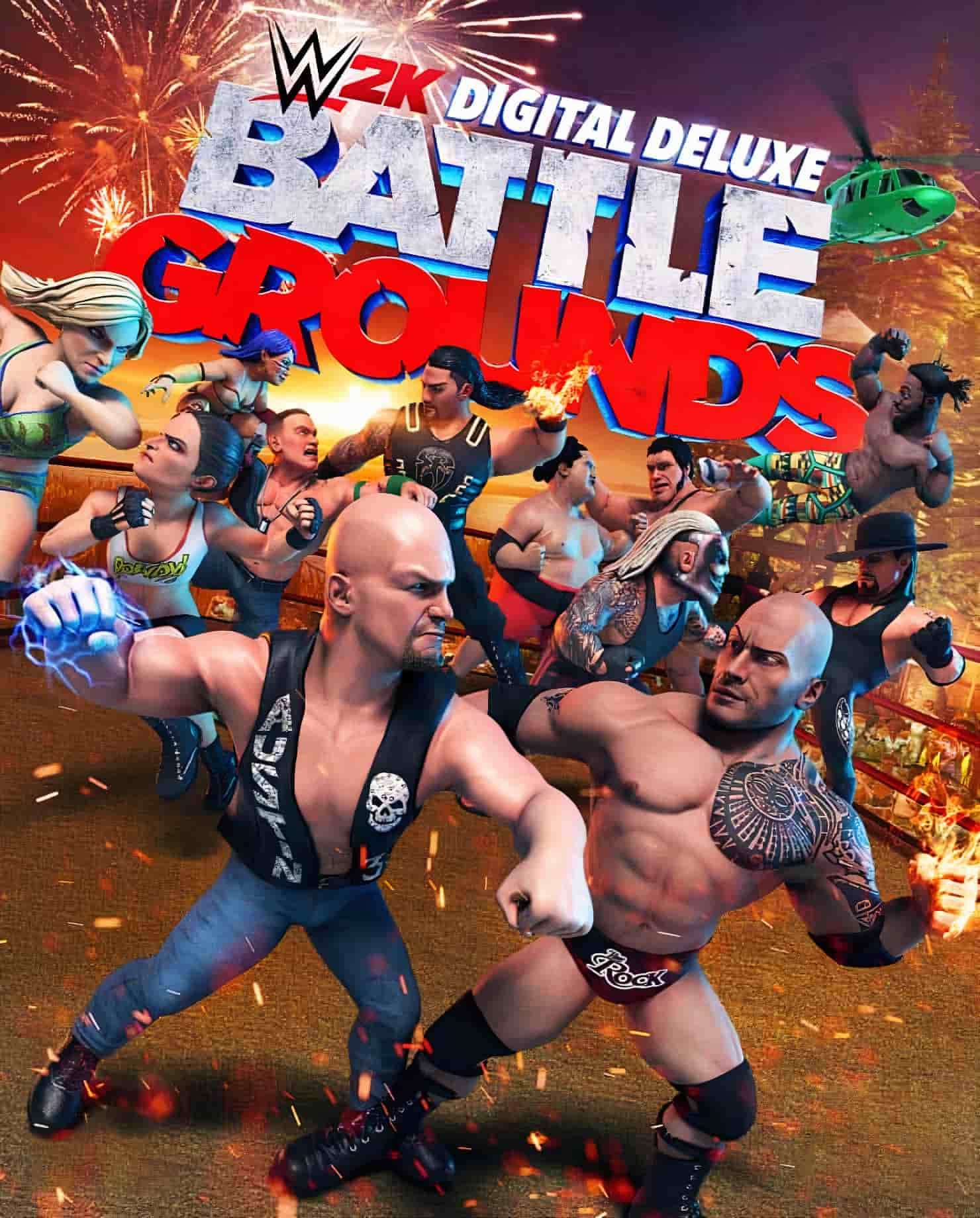 WWE 2K Battlegrounds – Deluxe Edition