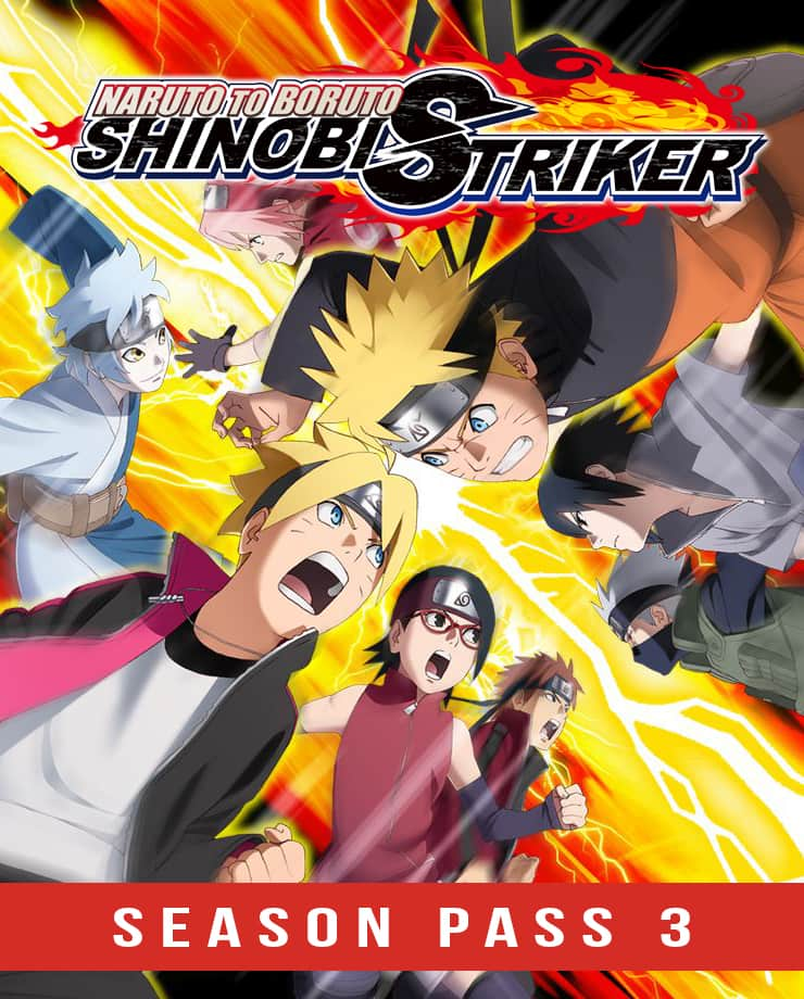 NARUTO TO BORUTO: SHINOBI STRIKER – Season Pass 3