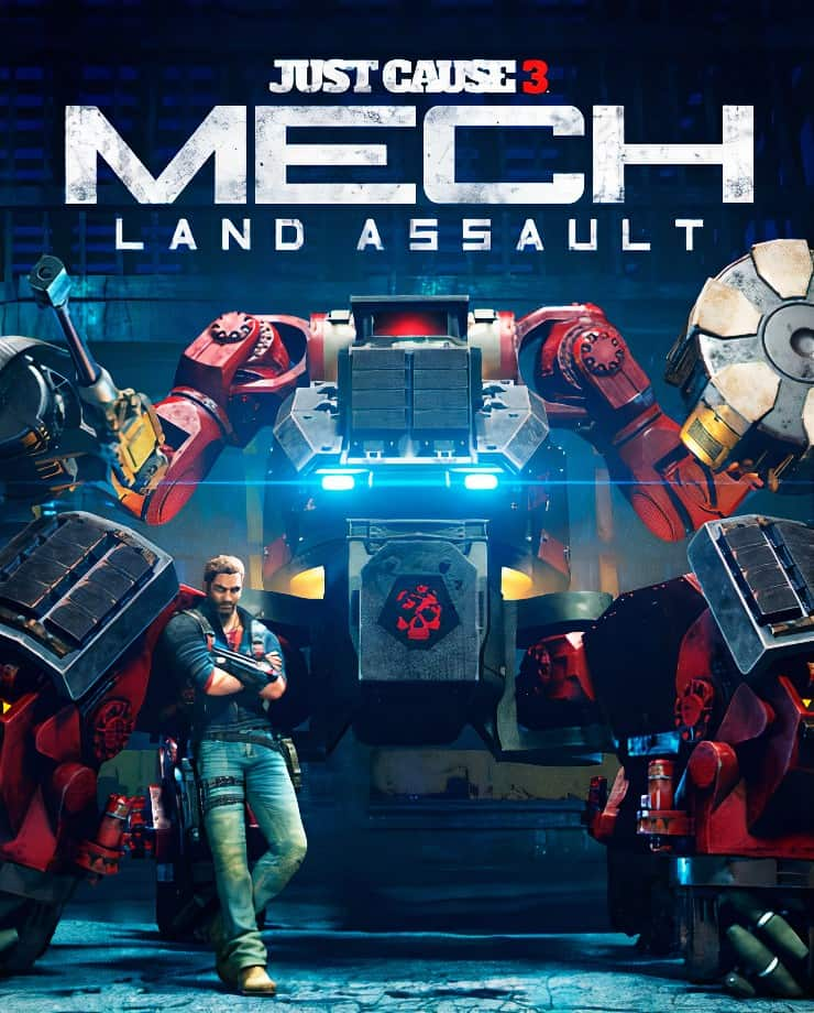 Just Cause 3 – Mech Land Assault