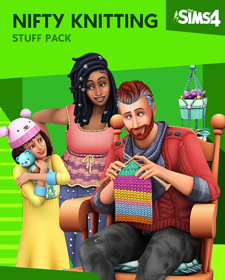 The Sims 4 – Nifty Knitting Stuff Pack
