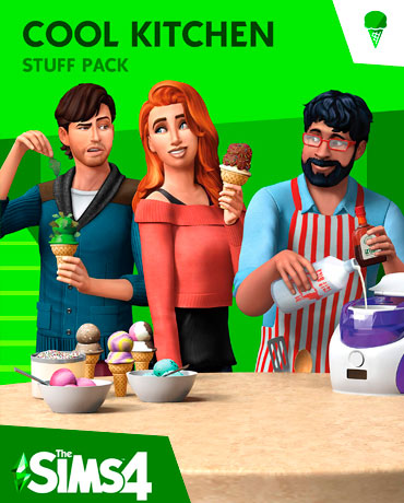 The Sims 4 – Cool Kitchen