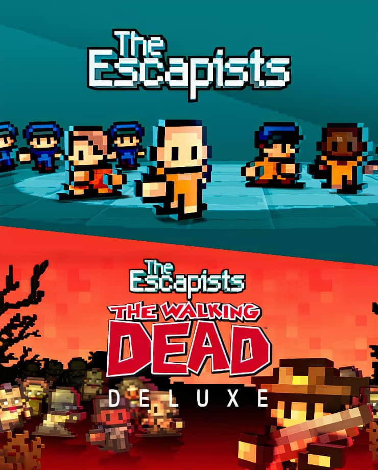 The Escapists + The Escapists: The Walking Dead – Deluxe