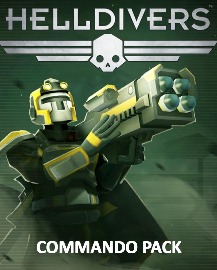 HELLDIVERS - Commando Pack
