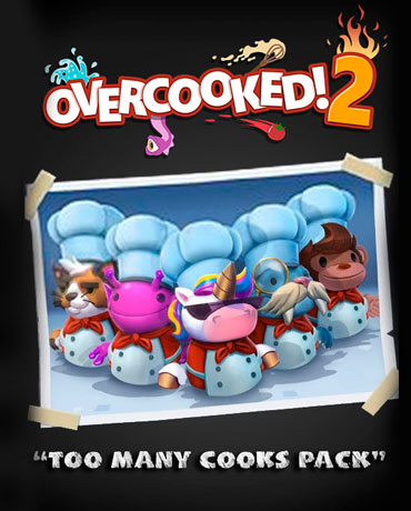 Overcooked! 2 – Too Many Cooks Pack