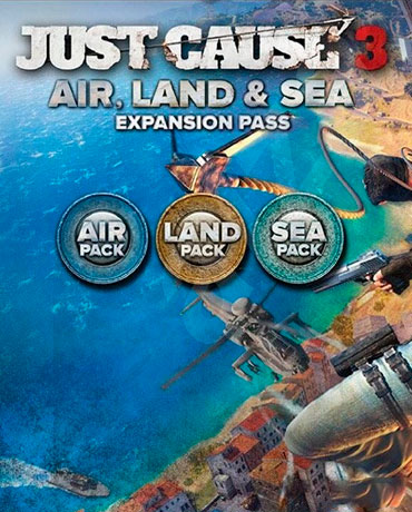 Just Cause 3 – Air, Land and Sea Expansion Pass