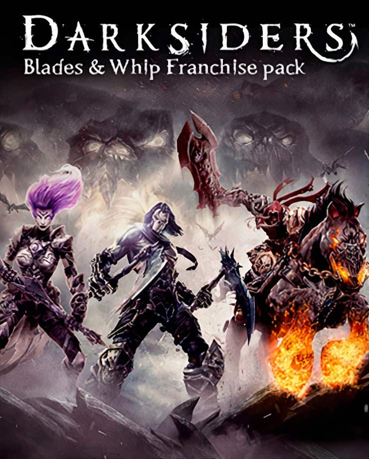 Darksiders Blades and Whip Franchise Pack