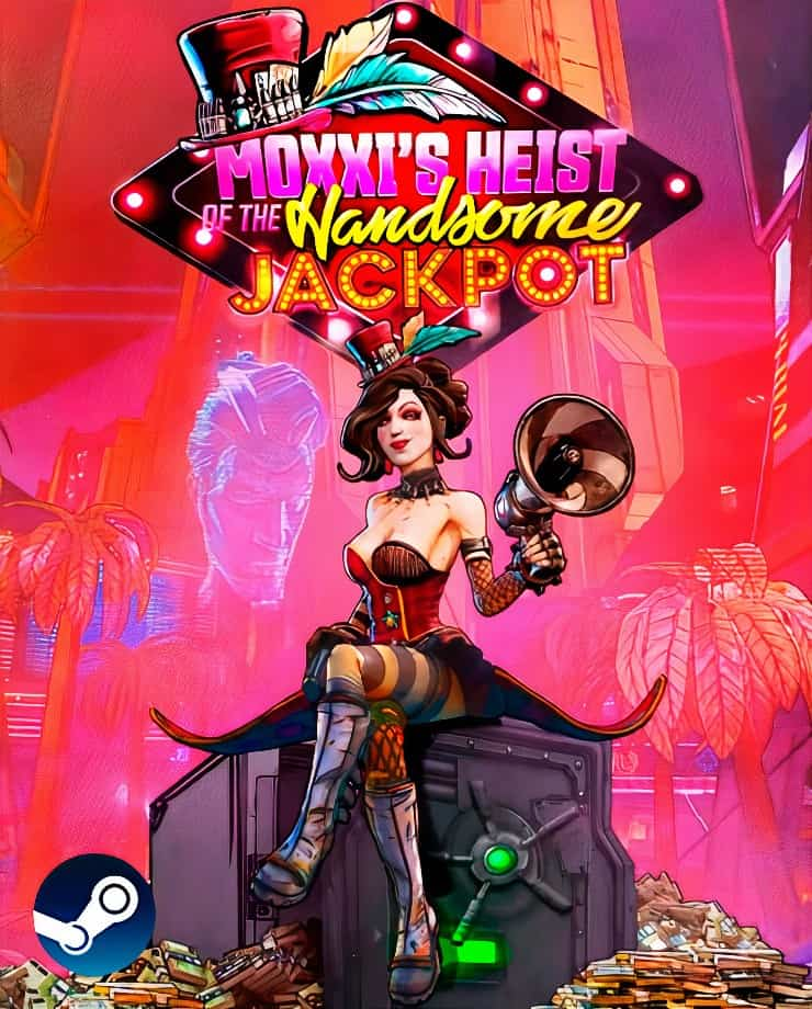 Borderlands 3 – Moxxi's Heist Of The Handsome Jackpot (Steam)