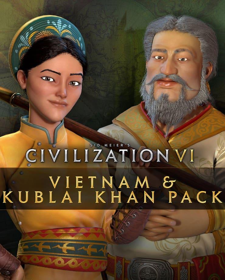 Sid Meier's Civilization VI – Vietnam & Kublai Khan Pack (Epic Games)