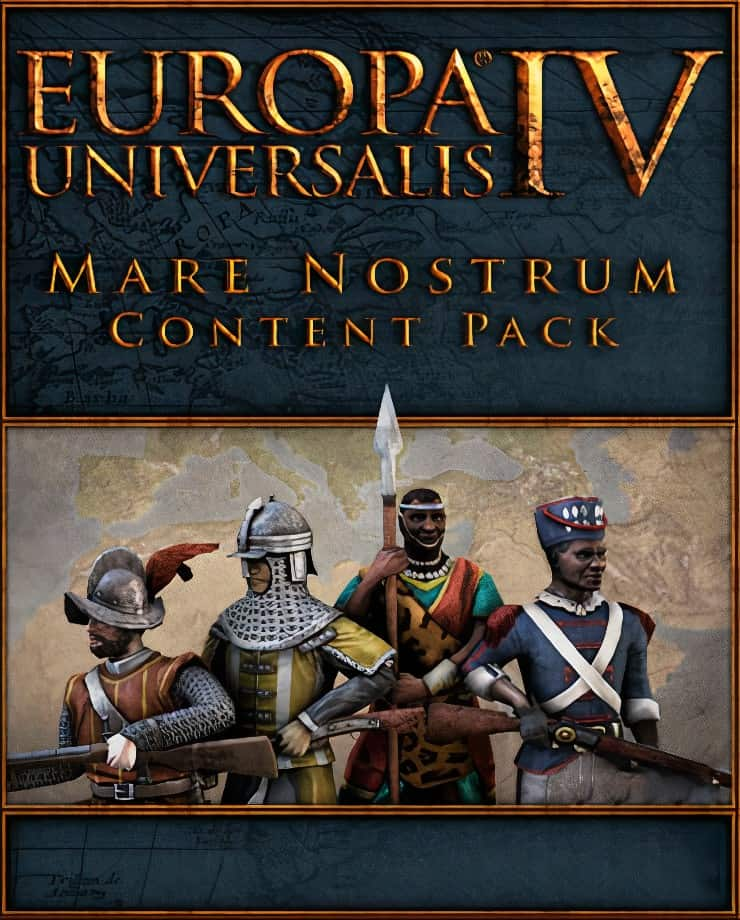 Europa Universalis IV: Mare Nostrum – Content Pack